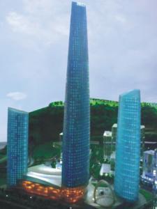 重庆渝中区化龙桥片区